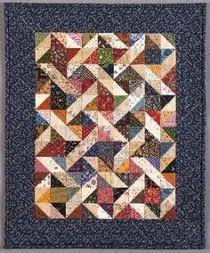 Tara Lynn Darr's book Simply Charming: Small Scrap Quilts of Yesteryear.   Pattern Columbia's Vintage Charm