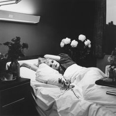 Candy on her Deathbed, 1974 Peter Hujar - Candy Darling. A powerful statement.