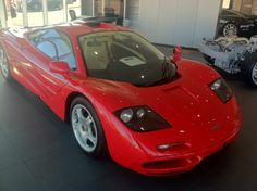 McLaren F1 at the dealership in Palo Alto, CA
