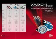 HOOVER   XARION PRO [BROCHURE] - http://www.complementooggetto.eu/wordpress/hoover-xarion-pro-brochure/