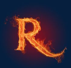Realistic Fiery Letters and Numbers - Fiery Letter R - Fire Aphabets, Fire Letters A-Z, 18 Alphabet Wallpaper, Name Wallpaper, Wallpaper Gallery, Computer Wallpaper, Mobile Wallpaper, Hacker Wallpaper, Alphabet Latin, Alphabet Pictures, Alphabet Letters