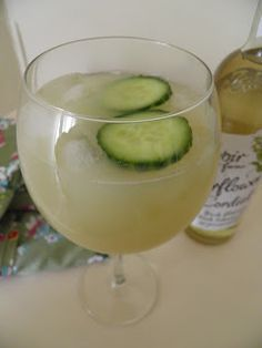 Gin, cloudy apple juice, elderflower cordial and cucumber: Say hello to the English Country Garden