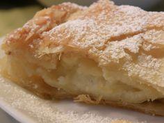 Sugarprincess: Bougatsa - Griechischer Grießkuchen in hausgemachtem Filoteig