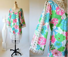 AMAZING Vintage 60's Lilly Pulitzer dress. SO gorgeous, Id die if Buck got me this!