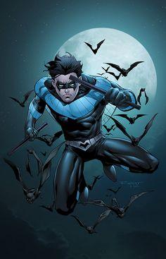 Nightwing by SeanE on DeviantArt