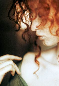 ginger, red hair, curls, beauti, redheads, freckles, redhair, portrait, curly hair