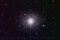 """M3 Globular cluster M3 lies in the northern constellation Canes Venatici the Hunting Dogs. Sharp-eyed observers can spot it as a 6th-magnitude """"star"""" from a dark site. M3 lies some 34,000 light-years from Earth. (12.5-inch Starizona Hyperion telescope, SBIG STL-11000M CCD camera, LRGB image with exposures of 230, 50, 50, and 50 minutes, respectively)"""