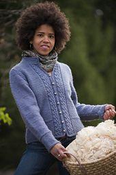 Ravelry: Springdelle Jacket pattern by Lisa Lloyd