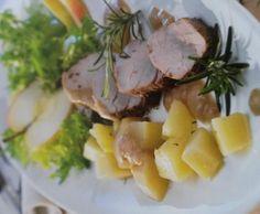Rezept Filets mit Apfel-Zwiebel-Sauce von noldine - Rezept der Kategorie Hauptgerichte mit Fleisch