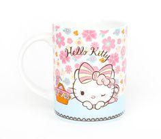 Hello Kitty 14 oz. Ceramic Mug: Hana | Sanrio