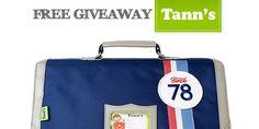 Free Giveaway Tann's : un cartable pour la rentrée à gagner ! -#Tanns GENIAL,Merci😜!