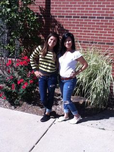 Lesly and I.♥