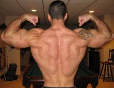 Back Exercises That Help You Build Muscle On The Back and Lats.