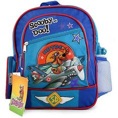 Scooby Doo Backpack Small Mid Medium Kids Size  Hot Dog *** To view further for this item, visit the image link.