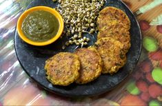 Sprouts Oats Cutlets – Healthy Snack