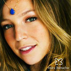 Colar Gota Azul! #Euquero #MairaBumachar  www.mairabumachar.com.br/ ou #whatsapp (11)99744-0079  #Sucesso #Vix #SP #VilaMadalena #LuisaMeirelles #PraiadoCanto #Whatsapp #ZonaOeste #Carinho #Parceria #Amor #Glamour