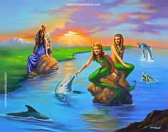 Jim Warren Aramini Family painting online, painting Authorized official website