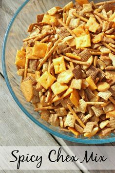Spicy Chex Mix #Recipe + $50 Food Lion Giveaway (sponsored)