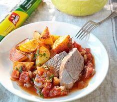 Jahňacie na rozmaríne a pečené zemiaky