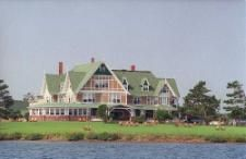 "Afternoon tea on Prince Edward Island...  the ""White Sands Hotel"" from the Anne of Green Gables book"