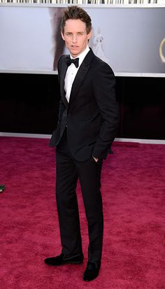 The Best Dressed Men of the 2013 Academy Awards, Eddie Redmayne Oscar Movies, Only Fashion, Men's Fashion, Hollywood Red Carpet, Formal Wear Women, Great Beards, Black Tie Affair, Dapper Gentleman, Well Dressed Men