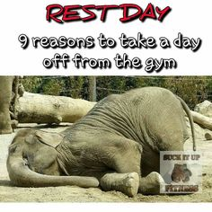 Happy Rest Day Fit Family!  We all know it takes a lot of restraint to take a day off. Yet it is vitally important to take rest days. Just as important as your workouts and diet. Here are nine reasons to take a rest day.  1. Your muscles grow when you rest. Lifting weights creates tiny tears in muscles that can only repair during rest.  2. Overtraining causes weight-loss plateau. Your body has a built-in protective mechanism and Overtraining can cause a plateau in your weight loss or weight…