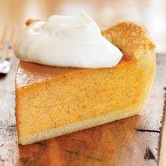 Sweet Potato Pie from EAGLE BRAND® Recipe Desserts with pie shell, sweet potatoes, butter, sweetened condensed milk, grated orange, vanilla extract, ground cinnamon, ground nutmeg, salt, eggs