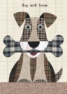 """http://www.lovehart.co.uk/Cards_D_cat72.asp?ccategory=79 [ """"Dog and bone quilt block"""", """"Wool fido/ cute idea"""" ] # # #Dog #Quilts, # #Animal #Quilts, # #Patchwork #Appliqué, # #Craft #Images, # #Apply #Patterns, # #Cute #Ideas, # #Quilt #Blocks, # #Airedale #Terrier, # #I #Know #It"""
