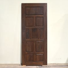 The Puerta Santa Barbara is a craftsman door, with a modern touch. From solid knotty alder wood, this door features a multi-panel layout design. Knotty Alder Doors, Craftsman Door, California Bungalow, Rustic Doors, Exterior Doors, Santa Barbara, Layout Design, Tall Cabinet Storage, Wood