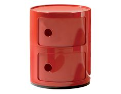 Red Componibili Storage Module by A. Ferrieri for Kartell $140