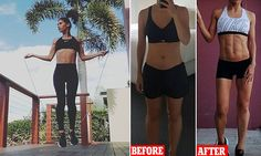 Mother-of-two shares how she overhauled her fitness in just 17 weeks