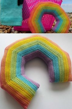 How To Crochet A Travel Pillow