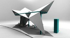 origami inspired architecture - Google Search