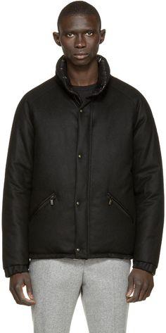 Moncler Gamme Bleu - Black Reversible Down Jacket