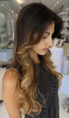 ombre beautifully blended