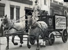 """"""" in fact """"Dreimal Hoch!"""" declared the new Genesee Brewing Company in April of 1933 when Prohibition ended. End Of Prohibition, Rochester New York, I Love Ny, Draft Horses, Brewing Company, Back In The Day, Old Photos, Brewery, Old School"""