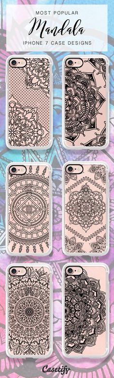 Check out these most popular mandala designs for iPhone 7 case. Shop them all here > https://www.casetify.com/artworks/NFnuUtYi7Z