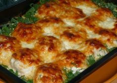 CHICKEN BALLS WITH OVEN CREAM SAUCE- If you want to make chicken, chicken balls with creamy sauce and chicken balls illustrated chicken recipe. We are again with a foreign Chicken Recipe from the chicken dishes. From chicken breast meat… Chicken Balls, Oven Chicken, Sauce Recipes, Chicken Recipes, Cooking Recipes, Recipe Chicken, Cooking Time, Russian Recipes, Turkish Recipes