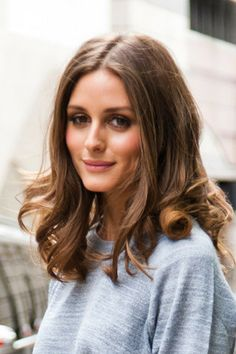 Olivia Palermo's hair, during London Fashion Week Spring/Summer 2013 in September 2012 - at the Matthew Williamson runway show.