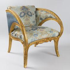Spanish Art Nouveau Armchairs by Joan Busquets