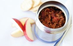 Make this chili for dinner and enjoy the leftovers for next day s lunch. It s great with gluten-free cornbread, carrot sticks and an apple.