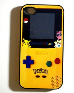 Pokemon Gameboy  iphone 4 case iphone case  by ExpressoPrint, $19.95. This Etsy shop has the coolest cases!
