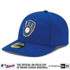 478d545204d Milwaukee Brewers - New Era 5950 Performance Fabric MLB Ftd. Low Crown Cap  Alt. Hats For MenCrownBaseball ...