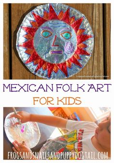 Top 10 Kids Crafts and Activities for Cinco De Mayo Kids Crafts, Projects For Kids, Art Projects, Arts And Crafts, Mexico Crafts, Hispanic Art, World Thinking Day, World Crafts, Art Africain