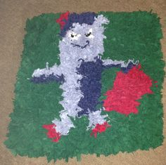 My First Rag Rug Iggle Piggle Not Perfect But I Tried In The Night Garden