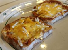 Pizza Toast - 5 minute Recipe