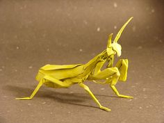 Think I'll leave this one to Satoshi Kamiya - looks like a lot of work! Pretty cool though. カマキリ / Praying mantis