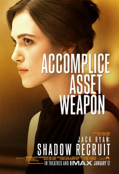 Keira Knightley in Jack Ryan: Shadow Recruit?