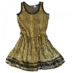VALENTINO Gold Dress