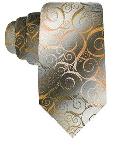 John Ashford Tie, Swirl - Mens Ties - Macy's